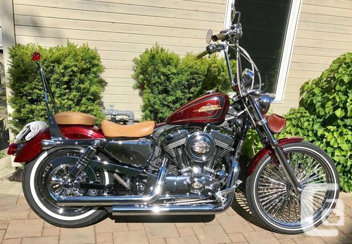 2012 Harley Davidson Sportster Seventy-Two XL1200V