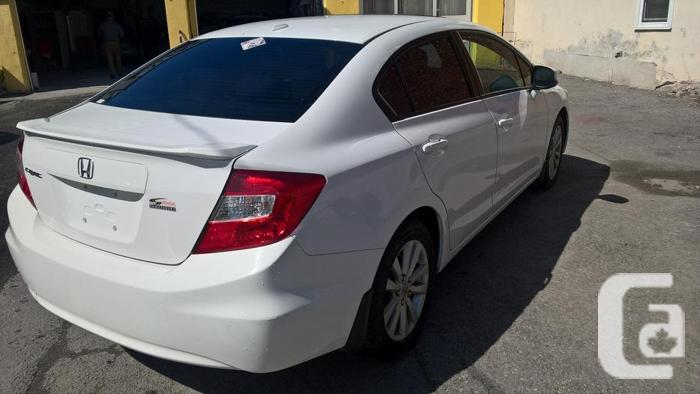 2012 honda civic ex l for sale in ottawa ontario classifieds. Black Bedroom Furniture Sets. Home Design Ideas