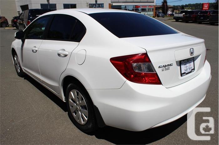 2012 Honda Civic LX (A5)