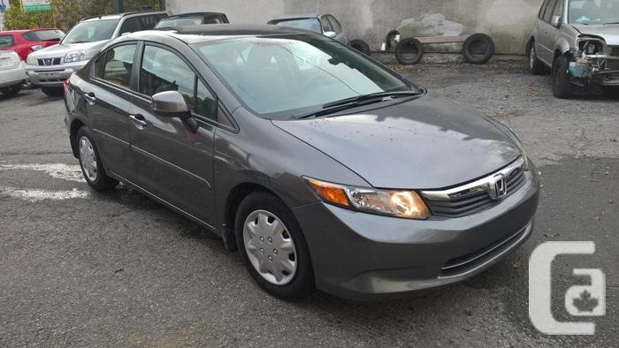 2012 honda civic lx for sale in ottawa ontario classifieds. Black Bedroom Furniture Sets. Home Design Ideas