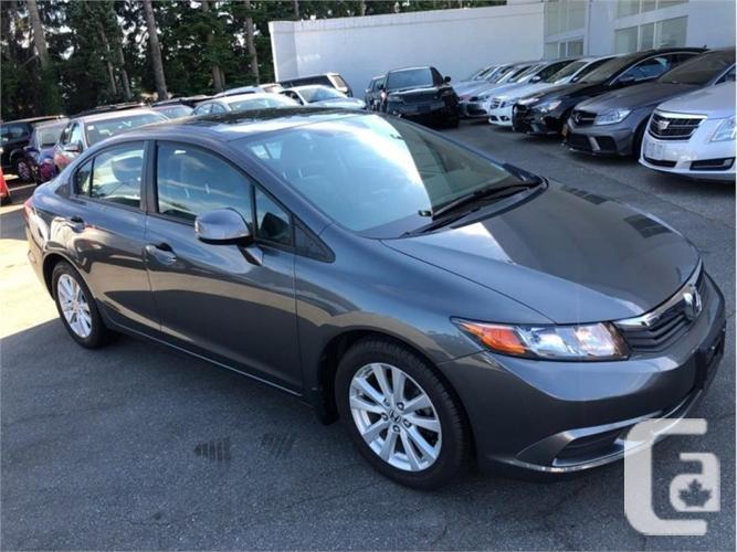 2012 Honda Civic Sedan EX-Leather load 100% approval