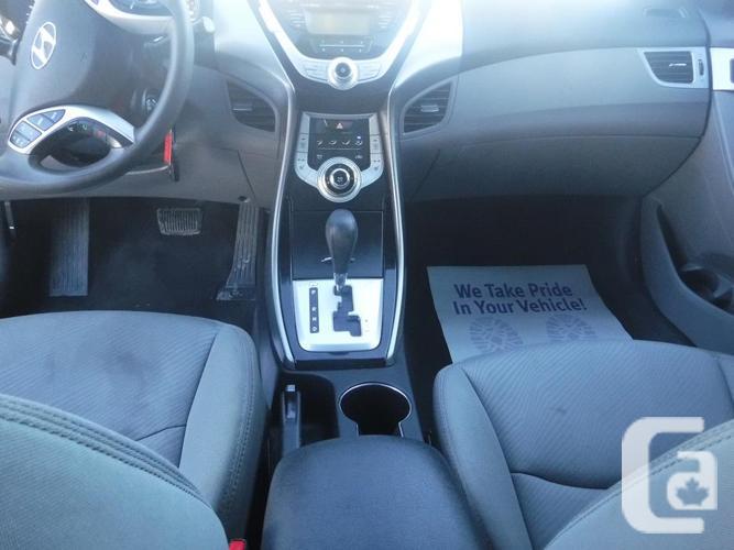 2012 Hyundai Elantra AUTO/LOADED/ 154km, CERTIFIED+WRTY
