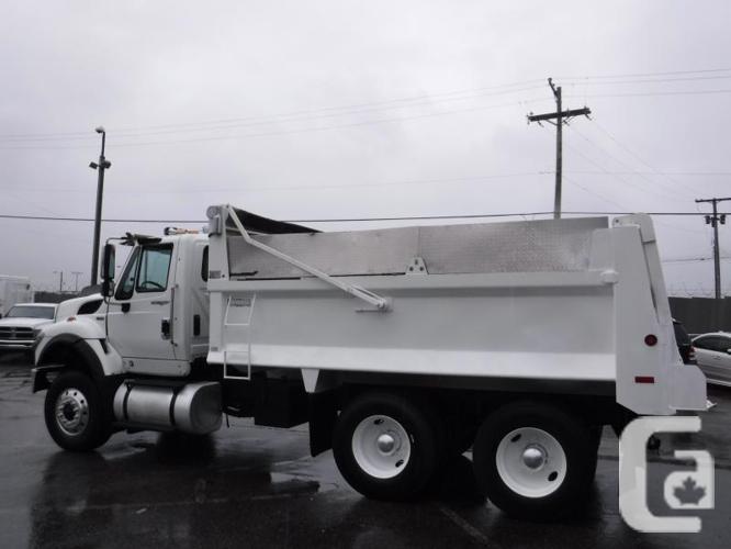 2012 International 7400 Dump Truck Diesel Air Brakes
