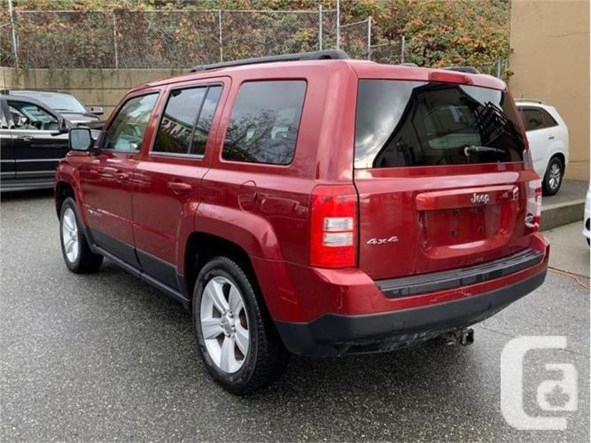 2012 Jeep Patriot PATRIOT  - Heated Seats