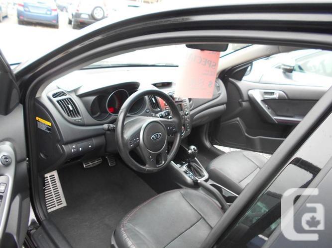 2012 KIA Forte SX Luxery edition