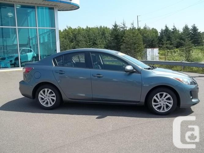 2012 MAZDA 3 GS SEDAN WITH SKY ACTIVE AND LEATHER