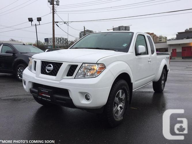 2012 Nissan Frontier Pro-4x King Cab 4x4 - NO