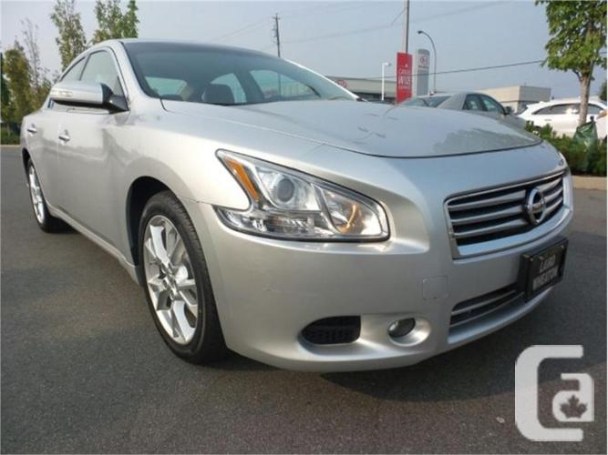 2012 nissan maxima 3 5 sv for sale in nanaimo british columbia classifieds. Black Bedroom Furniture Sets. Home Design Ideas