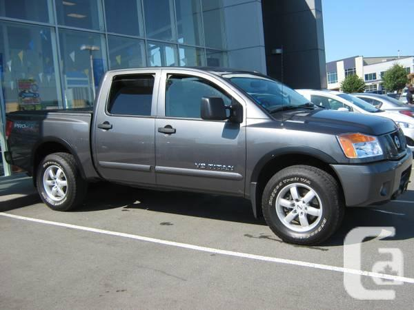 2012 Nissan Titan Crew Cab 4x4 Off Road Package