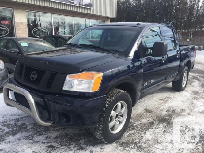 2012 nissan titan pro 4x cuir 4x4 garantie inspect for sale in langley british columbia. Black Bedroom Furniture Sets. Home Design Ideas