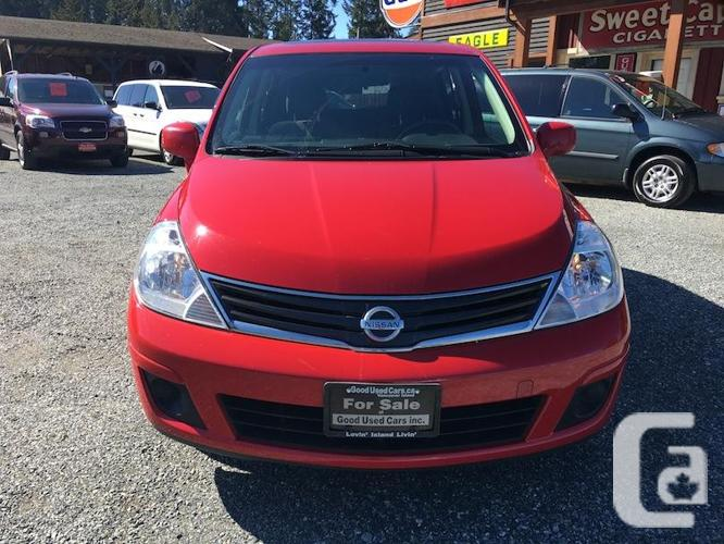 2012 Nissan Versa S - Manual with Sunroof and only