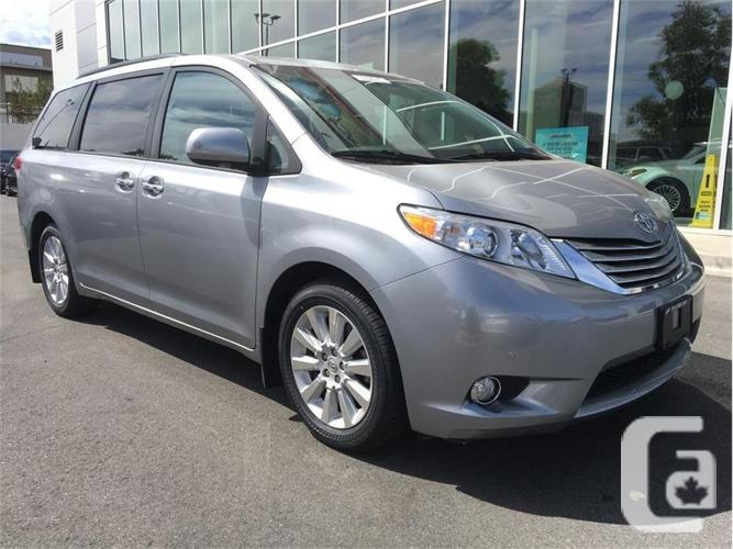 2012 toyota sienna limited xle awd 7 passenger a6 for sale in nanaimo british columbia. Black Bedroom Furniture Sets. Home Design Ideas