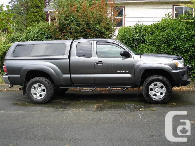 2012 toyota tacoma v6 access cab sr5 4x4 for sale in westholme british columbia classifieds. Black Bedroom Furniture Sets. Home Design Ideas