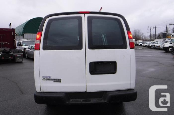 2013 Chevrolet Express 2500 Extended Cargo Van with