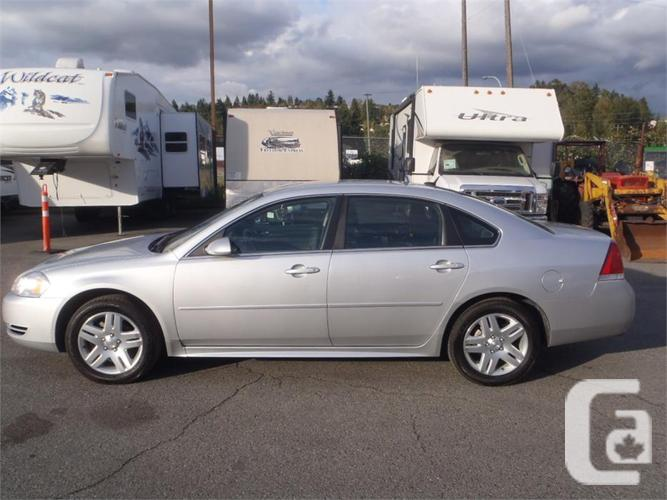 2013 chevrolet impala lt for sale in salmo british columbia classifieds. Black Bedroom Furniture Sets. Home Design Ideas