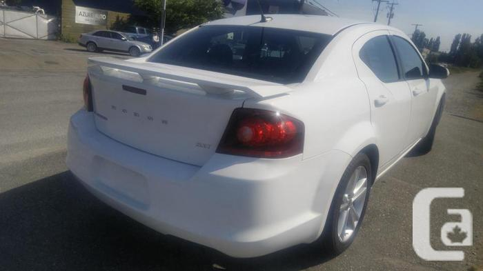 2013 Dodge Avenger SXT -Local, Low KMs -comes with 6