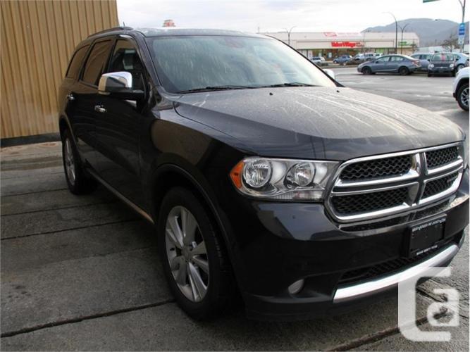 2013 Dodge Durango Crew Plus  - Leather Seats