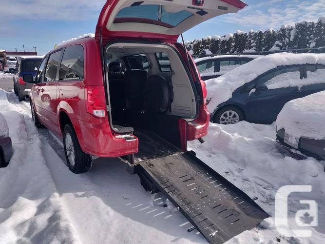 2013 Dodge Grand Caravan Wheel Chair Access **