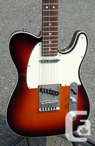 2013 Fender Telecaster Deluxe w/Case