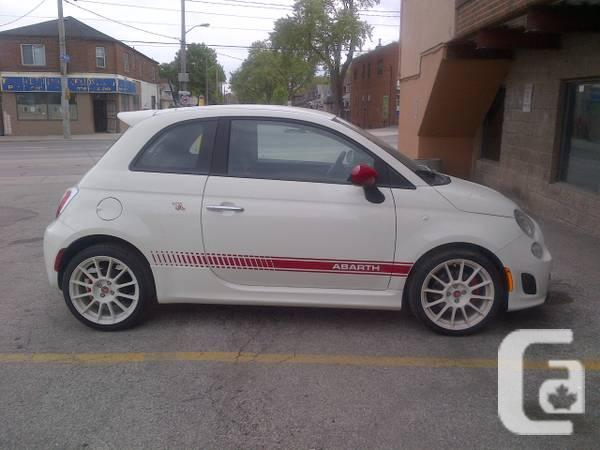 2013 FIAT 500 ABARTH COUPE ONLY 3900KM - $20995