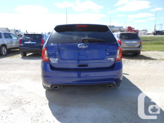 2013 ford edge sport navigation myford touch t4953 for sale in marquette manitoba. Black Bedroom Furniture Sets. Home Design Ideas