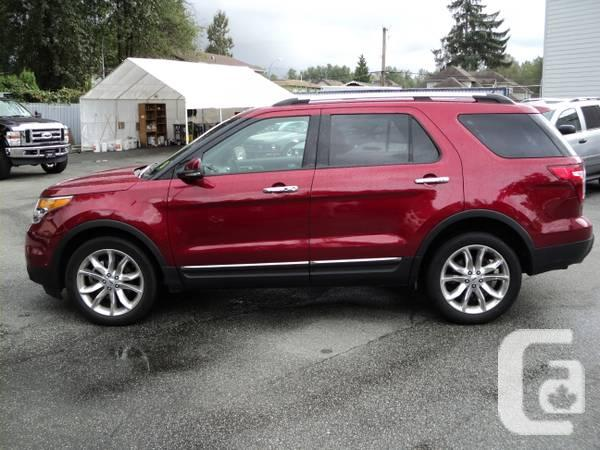 2013 ford explorer limited 27 000kms great price for sale in vancouver british columbia. Black Bedroom Furniture Sets. Home Design Ideas