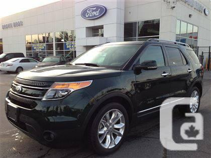 2013 ford explorer limited brown bros ford for sale in vancouver british columbia. Black Bedroom Furniture Sets. Home Design Ideas