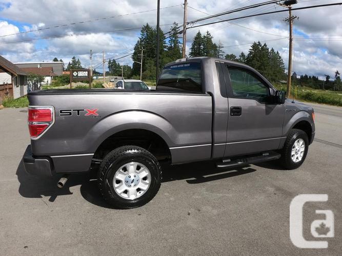2013 FORD F-150 STX SINGLE CAB 4X4 (Only 38,000