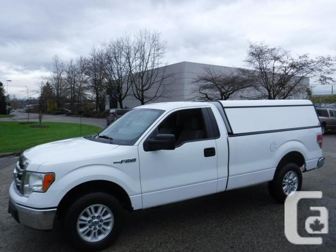 2013 Ford F-150 XLT Long Box 2WD with Canopy