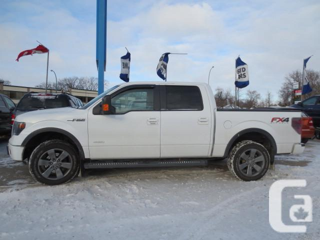 2013 ford f150 fx4 super crew 4x4 for sale in winnipeg. Black Bedroom Furniture Sets. Home Design Ideas