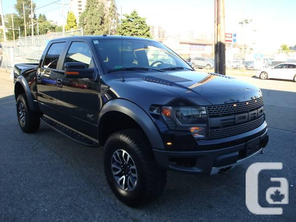 2013 ford f150 raptor 1319187 for sale in vancouver british. Cars Review. Best American Auto & Cars Review