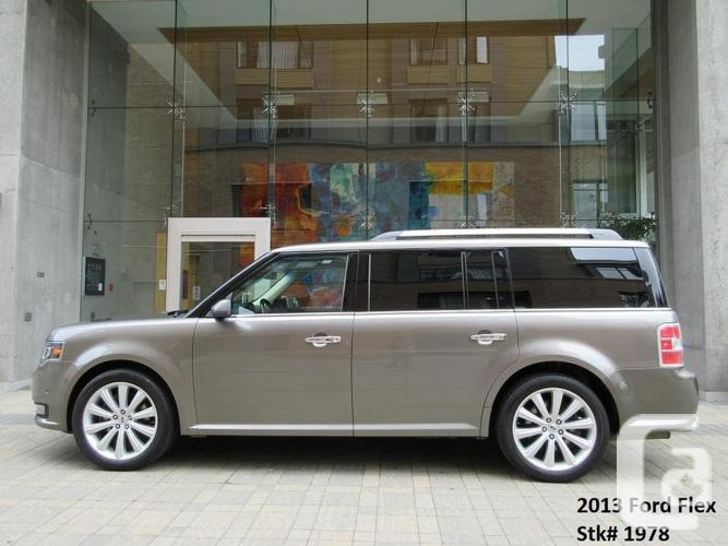 2013 Ford Flex Limited AWD - ON SALE! - FULLY LOADED!