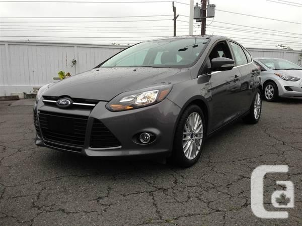 2013 ford focus titanium hatchback for sale in. Black Bedroom Furniture Sets. Home Design Ideas