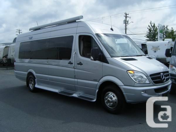 2013 Great-West Mercedes campervan - $124444