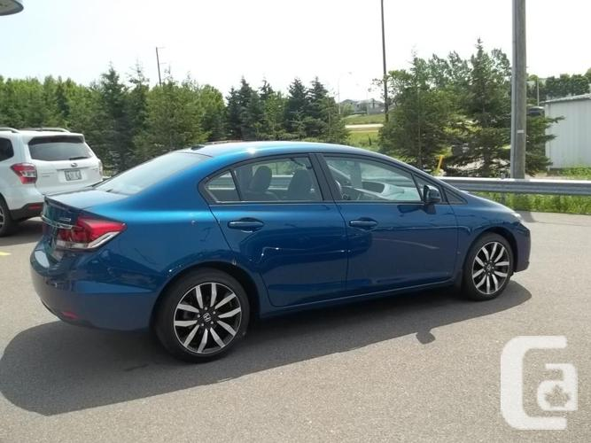 2013 HONDA CIVC TOURING EDITION ONLY 12600 KM AUTOMATIC