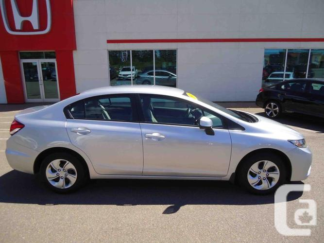 2013 honda civic sdn lx auto price drop low kms lots of options for sale in summerside. Black Bedroom Furniture Sets. Home Design Ideas