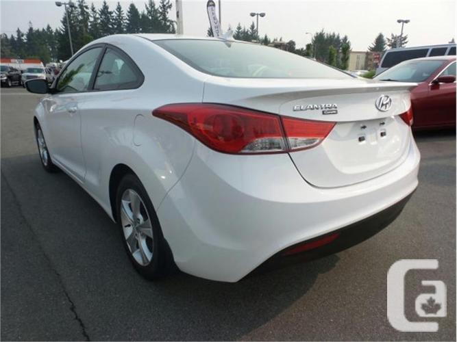 2013 hyundai elantra coupe for sale in nanaimo british columbia classifieds. Black Bedroom Furniture Sets. Home Design Ideas
