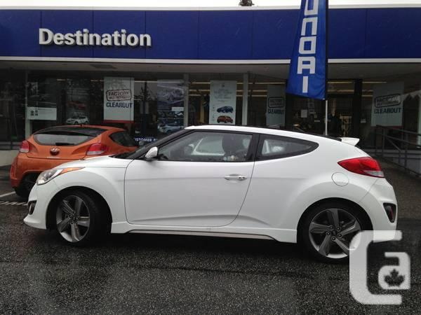 2013 hyundai veloster turbo certified hatchback for sale in vancouver british columbia. Black Bedroom Furniture Sets. Home Design Ideas