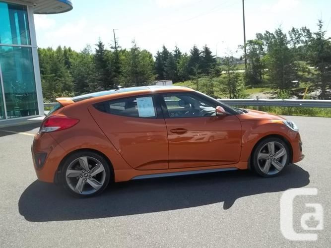 2013 HYUNDAI VELOSTER TURBO WITH TECKNOLOGY PACKAGE