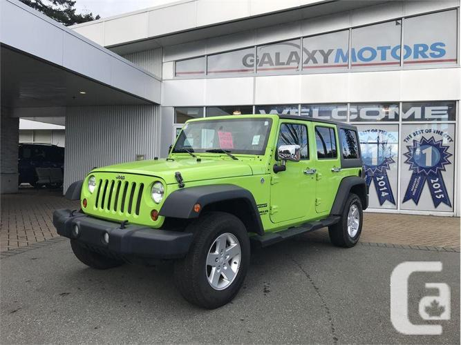 2013 Jeep Wrangler Unlimited SPORT - BLUETOOTH, AIR