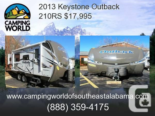 2013 Keystone Outback 210RS, Travel Trailer - $17995