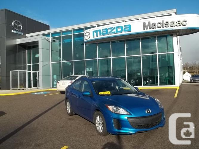 2013 MAZDA 3 GS ATMOSPHERE 6-SPEED MANUAL WITH