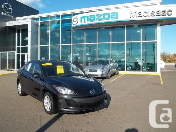 2013 MAZDA 3 GX WITH CONVENIENCE DEAL U807