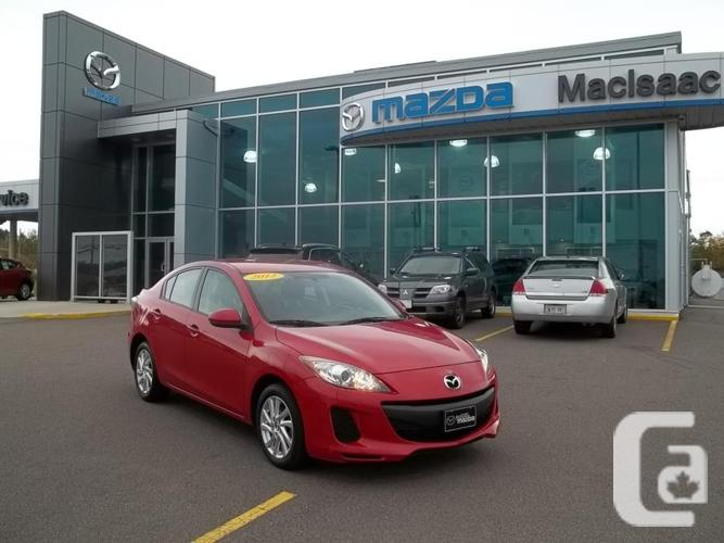 2013 MAZDA 3 GX WITH CONVENIENCE DEAL U808