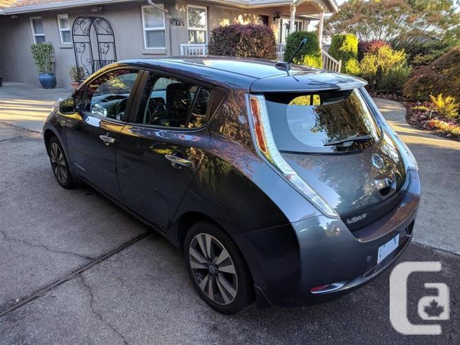 2013 Nissan Leaf SL Premium w/Quick Charge