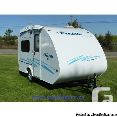 2013 Prolite Cool 13 Travel Trailer For Sale In Airdrie