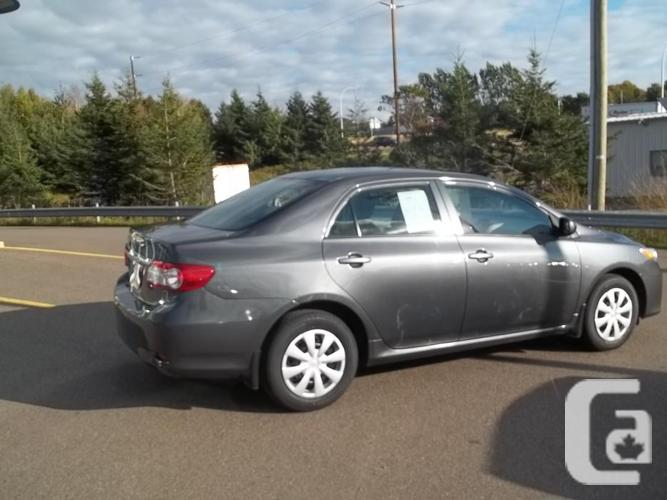 2013 Toyota Corolla CE Auto with A/C