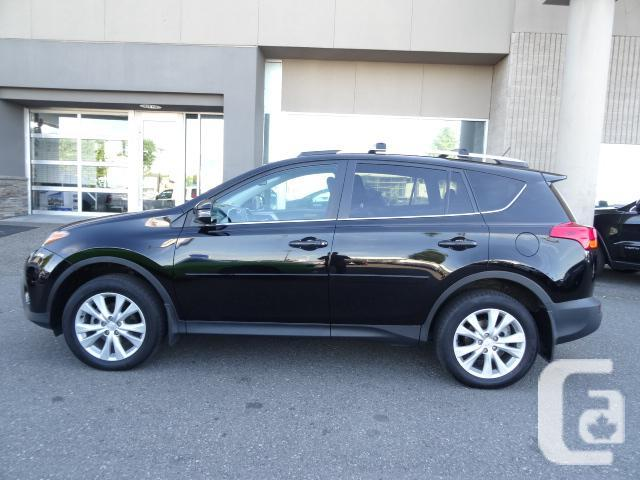 2013 toyota rav4 limited fully loaded for sale in langley british columbia classifieds. Black Bedroom Furniture Sets. Home Design Ideas