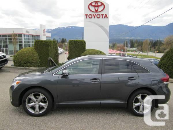 2013 toyota venza v6 awd for sale in kelowna british columbia classifieds. Black Bedroom Furniture Sets. Home Design Ideas
