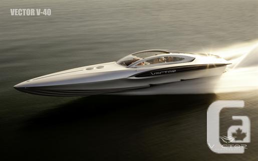 2013 VECTOR V-40 Boat for Sale
